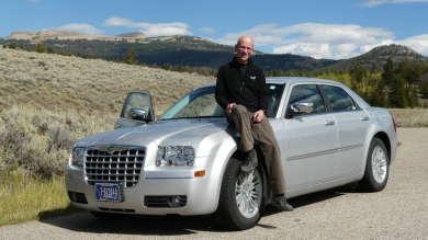 Unser Mietwagen für den Yellowstone National Park