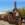 Death Valley: Alte Zugmaschine für Bergbauprodukte